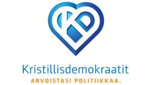 Kristillisdemokraattien uusi logo.