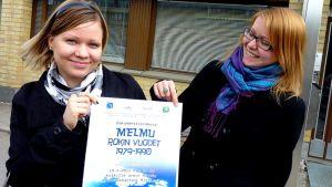 Melmu -dokumentin tekijät Sanna Niskanen ja Marjukka Tanttari