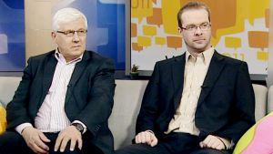 Risto Uimonen ja Ville Pernaa