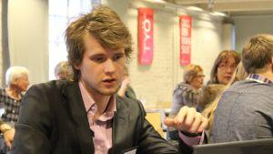 SDP:n Eero Vainio.
