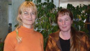 Janina Andersson (vihr.) ja Marjaana Koskinen (sd.).