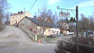 Old Fiskars factory in Raseborg