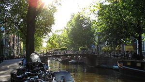 Kanava Amsterdamissa.