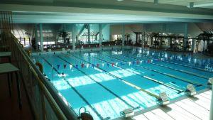 Kokkolan uimahallin pääallas.