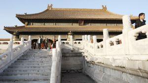 Kielletty kaupunki Pekingissä.