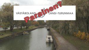 """""""Suur-Parainen"""" oli aluksi Länsi-Turunmaa."""