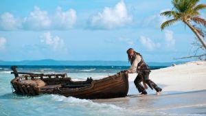 Johnny Depp näyttelee uusimmassa Pirates of the Caribbean -elokuvassa.