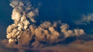 Grimsvötn-tulivuori purkaantuu Vatnajökul-jäätiköllä Islannissa 21. toukokuuta 2011.