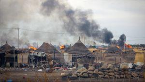 Pohjois- ja Etelä-Sudanin välinen kiistelty Abyein alue.