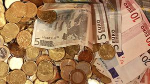 Kolikoita ja seteleitä
