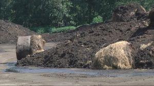 Sääaseman antamat tuulitiedot kertovat, milloin jätevedenpuhdistamon kompostikenttää voidaan käännellä.