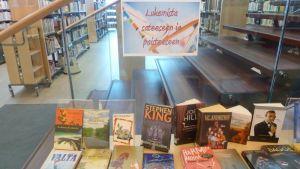 kesälukemista Oulunsalon kirjastossa