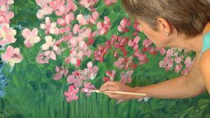 Yhdysvalloissa asuva taiteilija Rea Nurmi on yksi viikonlopun ulkosuomalaisista vieraista.