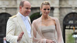 Monacon ruhtinas Albert ja Charlene Wittstock