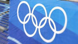 Olympialaisten logo.