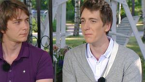 James ja Oliver Phelps näyttelevät Fred ja George Weasleyä jo kahdeksannessa Harry Potter -elokuvassa.