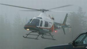 Rajavartiolaitoksen uusi helikopteri AW119 esittelyssä Rovaniemellä