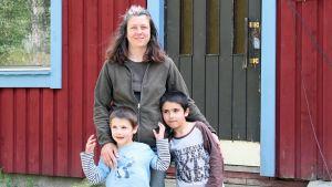 Natalie Delgado ja pojat