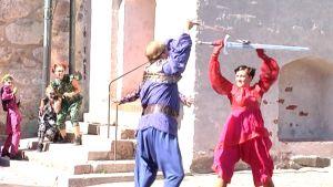 Alvilda in Abo - oopperassa nähdään upeita miekkakohtauksia