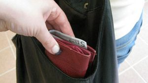 Varas vie lompakon laukusta