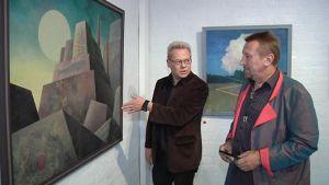 surrealisminäyttely taide taidenäyttely kuvataide taulu surrealismi juha rautio olavi tiala