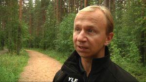 Metsäkeskus Pohjois-Karjalan johtaja Anssi Niskanen.