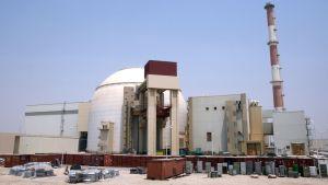 Bushehrin ydinvoimala Iranissa.