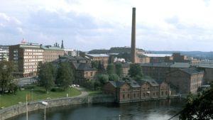 Tampereen verkatehdas vuonna 1979