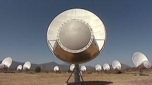 SETI:n radioteleskooppeja Pohjois-Kaliforniassa