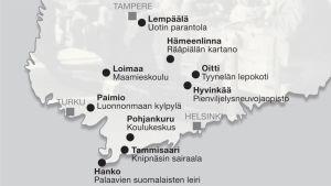 Internointileirit Suomessa vuosina 1944 -1947.
