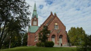 Forssan punatiilinen kirkko