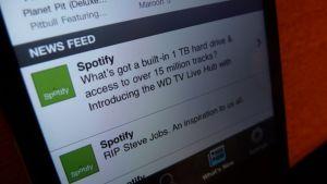 Spotify on miljoonien musiikinystävien käytössä. Artistien lompakossa se ei välttämättä näy.