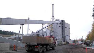 Lahti Energian uusi voimalaitos.