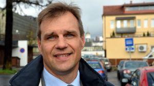 MPY:n toimitusjohtaja Jan-Erik Laine.