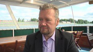 Vasemmistoliiton satakuntalainen kansanedustaja Jari Myllykoski.