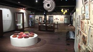 Ornamon näyttely Pohjois-Karjalan museossa.
