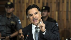Guatemalan entinen presidentti Alfonso Portillo.