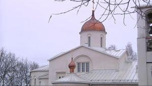 Uuden-Valamon kirkko.