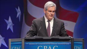 Newt Gingrich on mukana rebuplikaanien presidenttikisassa.