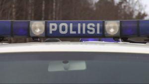 Poliisiauton vilkut