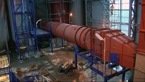 Savukaasunpuhdistuslaitteistoa jätteenpolttolaitoksella.