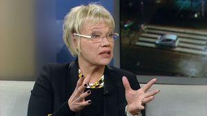 Aamu:tvn vieraana Ylen Brysselin kirjeenvaihtaja Susanna Turunen.
