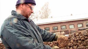 Maatalousyrittäjä Kimmo Ihalainen