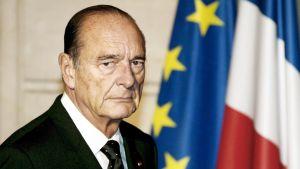 Ranskan entinen presidentti Jacques Chirac.