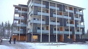 Heinolan Vierumäelle valmistunut puukerrostalo on energiatehokas.