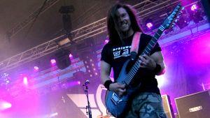 Stam1nan kitaristi Pekka Olkkonen