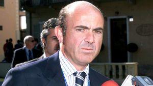Luis de Guindos haastateltavana syyskuussa 2003.