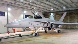 F-18C Hornet hävittäjä