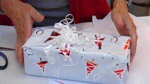 Paketoitu joululahja