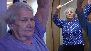 Vanhukset jumppaavat